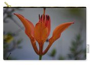 Wood Lily With Lake Superior In Background Carry-all Pouch