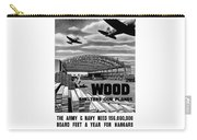 Wood Shelters Our Planes - Ww2 Carry-all Pouch