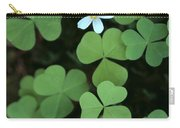 Wood Sorrel Flower Carry-all Pouch