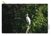 Wood Stork-out On A Limb Carry-all Pouch
