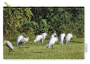 Wood Storks 2 - There Is Always One In A Crowd Carry-all Pouch