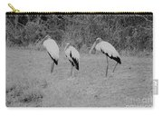 Wood Storks By The Water's Edge Carry-all Pouch