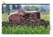 Woodburn Oregon - Tractor And Field Of Tulips Carry-all Pouch