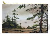 Wooded Shore Carry-all Pouch