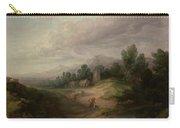 Wooded Upland Landscapewooded Upland Landscape By Thomas Gainsborough, Circa 1783 Carry-all Pouch