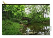 Wooded Valley Of The Patapsco River North Branch Maryland Carry-all Pouch