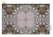Wooden Art Deco Starbursts Carry-all Pouch