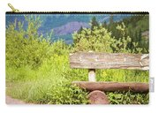 Wooden Bench Carry-all Pouch