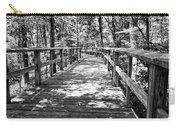 Wooden Boardwalk B Carry-all Pouch