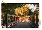 Wooden Bridge On The Rye Water - Maynooth, Ireland Carry-all Pouch