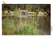 Wooden Bridge Carry-all Pouch