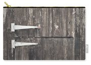 Wooden Cabin Door Carry-all Pouch