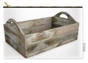 Wooden Carry Crate Carry-all Pouch
