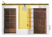 Wooden Doors In Old San Juan, Puerto Rico Carry-all Pouch
