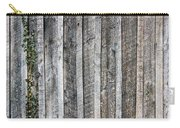 Wooden Fence And Ivy Carry-all Pouch