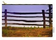 Wooden Fence Carry-all Pouch