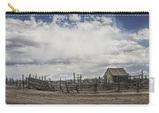 Wooden Fenced Corral Out West Carry-all Pouch