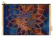Wooden Mandala Carry-all Pouch