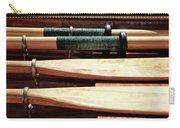 Wooden Oar Pattern Carry-all Pouch