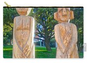 Wooden Sculptures In Central Park In Bariloche-argentina Carry-all Pouch