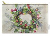 Woodland Berry Wreath Carry-all Pouch