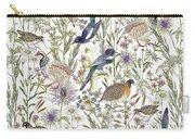 Woodland Edge Birds Carry-all Pouch