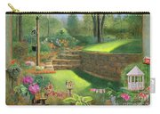 Woodland Garden In A Small Town Carry-all Pouch