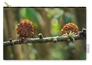 Woodland Pine Cones Carry-all Pouch