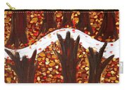 Woods In Autumn Carry-all Pouch