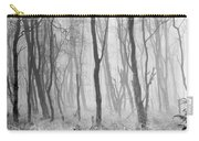 Woods In Mist, Stagshaw Common Carry-all Pouch