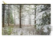 Woods In Winter At Retzer Nature Center  Carry-all Pouch