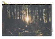 Woods Sunset Carry-all Pouch