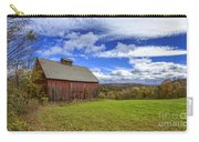 Woodstock Vermont Old Red Barn In Autunm Carry-all Pouch