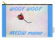 Woof Woof Meow Meow Carry-all Pouch