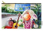 Woolhelmina The Scottish Sheep Playing Flamenco Carry-all Pouch