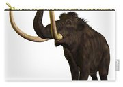 Woolly Mammoth Profile Carry-all Pouch