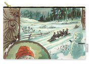Woolson Spice Company Christmas Card Carry-all Pouch