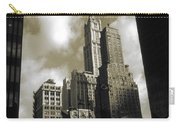 Old New York Photo - Historic Woolworth Building Carry-all Pouch