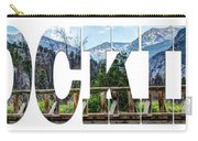 Word Art...the Rockies Carry-all Pouch