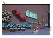 Word As Art Carry-all Pouch