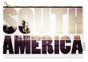 Word South America Copacabana Beach, Rio De Janeiro, Brazil  Carry-all Pouch