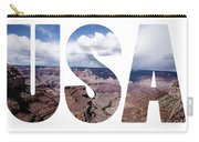 Word Usa Grand Canyon National Park, Arizona  Carry-all Pouch