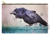 Words Of A Raven Carry-all Pouch
