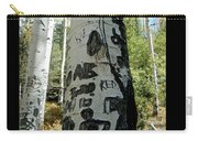 Words Written In The Trees 1 Carry-all Pouch