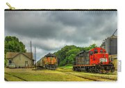 Work Horse Trains 3 Madison Georgia Locomotive Art Carry-all Pouch