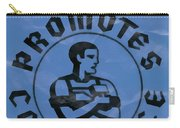 Work Promotes Confidence Blue Carry-all Pouch