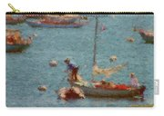 Work These Sails Honey Boothbay Harbor Maine Carry-all Pouch