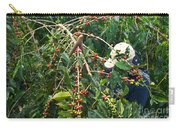 Worker Harvesting Kona Coffee Carry-all Pouch