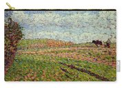 Working At Eragny 1886 Camille Pissarro Carry-all Pouch
