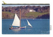 Working Boat At Trelissick Cornwall Carry-all Pouch